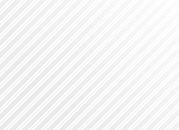 Limpiar rayas blancas mínimas vector patrón de fondo