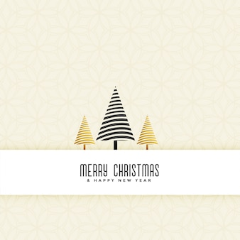 Limpie el fondo elegante del árbol de navidad
