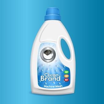 Limpie el icono de la botella de lavado.