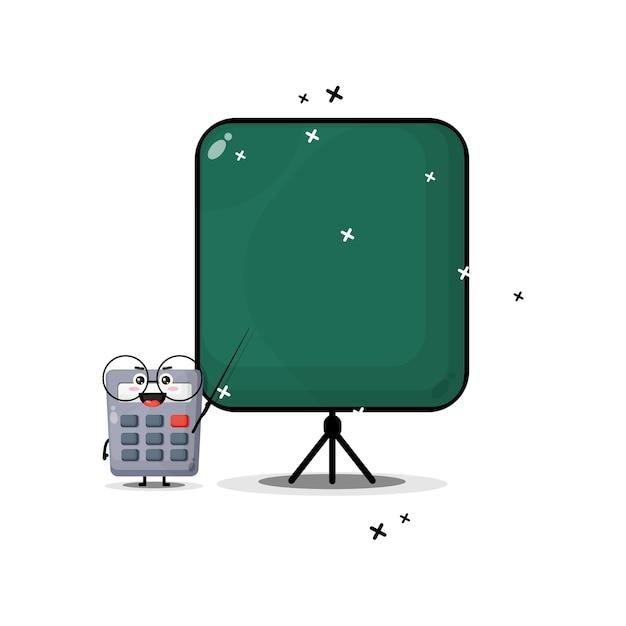Linda mascota calculadora se convierte en maestra