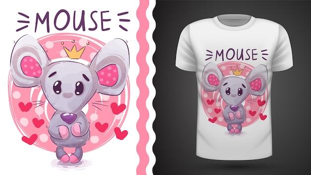 Linda princesa mouse