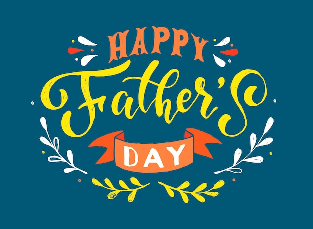 Linda tarjeta del día del padre