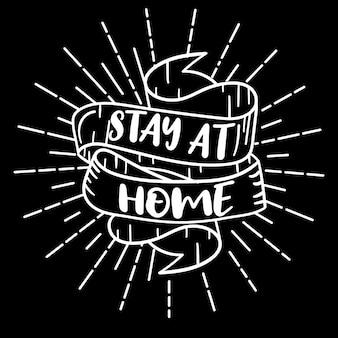 Lindas letras dibujadas a mano sobre coronavirus, covid-19, stay home, trabajo en casa. protección contra pandemias. iconos de doodle positivos de cuarentena, elementos de inicio. aislado sobre fondo blanco