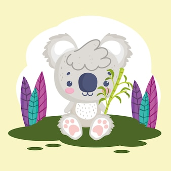 Lindo animal de peluche koala