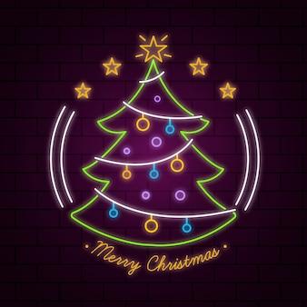 Lindo árbol de navidad eon
