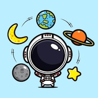 Lindo astronauta