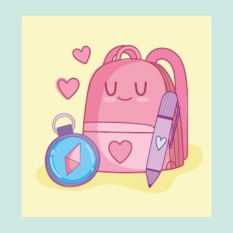 Lindo bolso de escuela