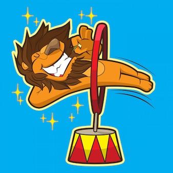 Lindo circo león