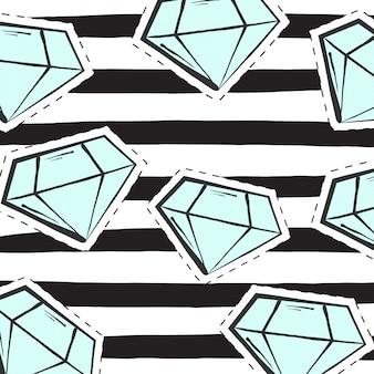 Lindo fondo de diamante, ilustración en formato vectorial