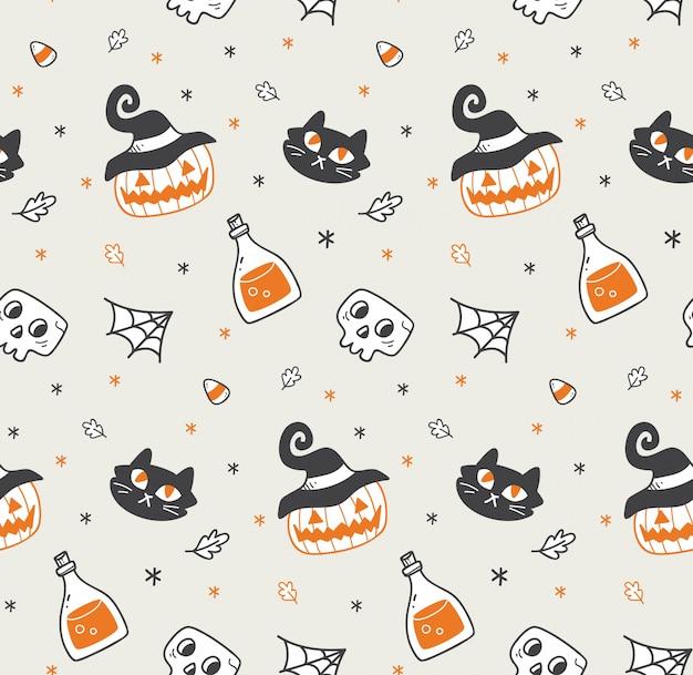 Lindo fondo transparente de halloween