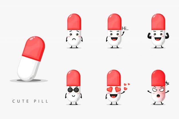 Lindo juego de pastillas para mascotas