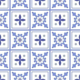 Lindo patrón de mosaico