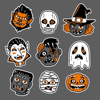 Lindo personaje de halloween