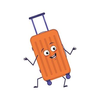 Lindo personaje de maleta