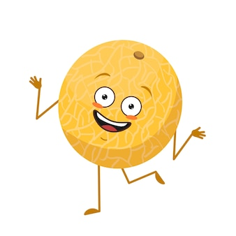 Lindo personaje de melón