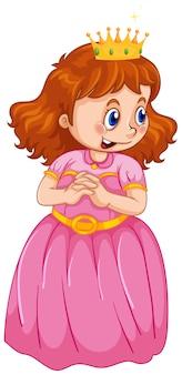 Un lindo personaje de princesa