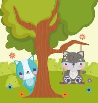 Lindos juguetes de peluche animales
