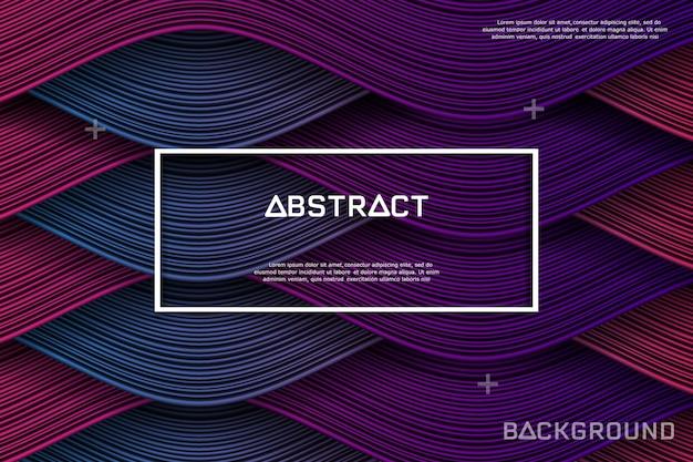 Línea abstracta y fondo de la textura.