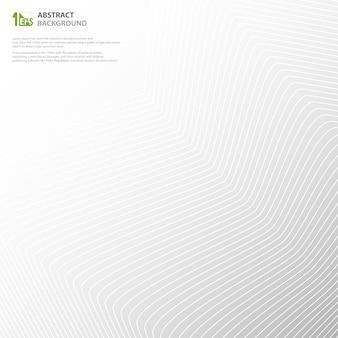 Línea abstracta de la raya del inconformista de diseño geométrico del modelo de la forma.