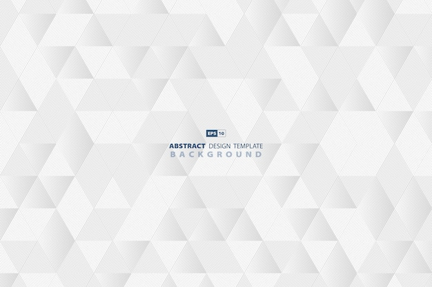 Línea abstracta tecnología patrón triángulo negocio diseño fondo.