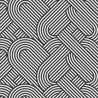 Línea de fondo de arte