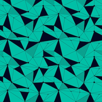 Línea geométrica sin patrón