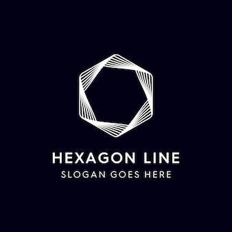 Línea hexagonal