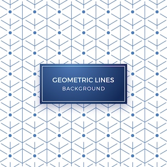 Línea mínima geométrica patrón de fondo