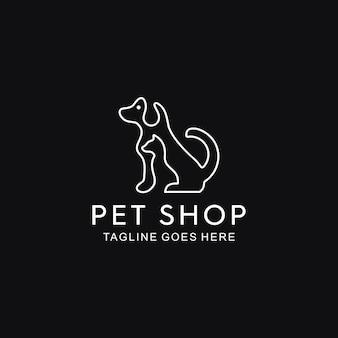 Línea de perros y gatos
