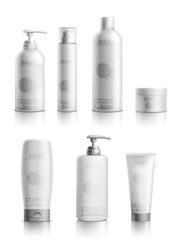 Línea de productos cosméticos para el cuidado de la piel.