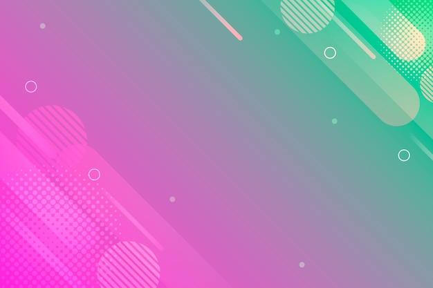 Líneas borrosas y copia espacio resumen de antecedentes