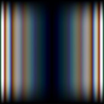 Líneas brillantes abstractas con fondo de aberraciones