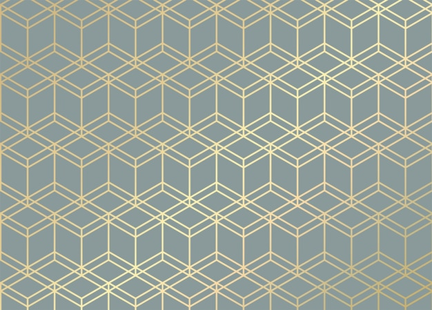Líneas doradas. patrón geométrico.