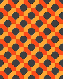 Líneas geométricas 3d círculo abstracto de patrones sin fisuras