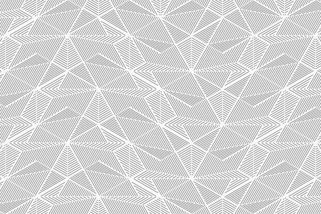 Líneas geométricas abstractas de patrones sin fisuras