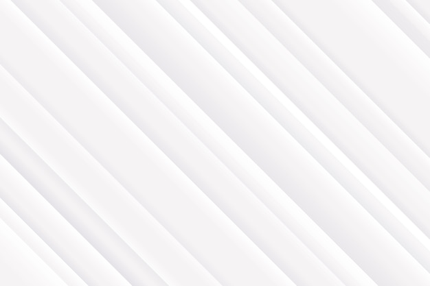 Líneas oblicuas fondo blanco elegante