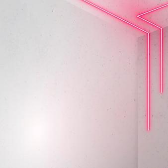 Líneas rosadas brillantes sobre fondo claro