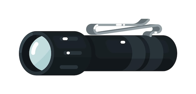 Linterna led eléctrica con clip para cinturón