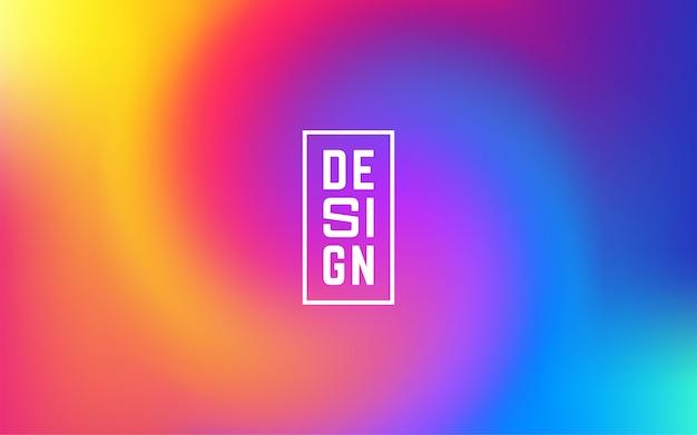 Líquidos formas de colores de composición de malla de moda degradados.