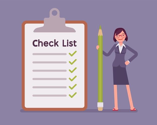 Lista de verificación gigante