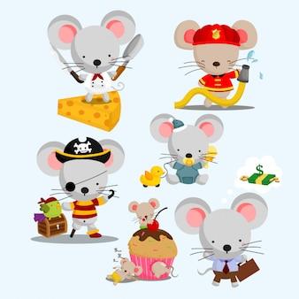 Littel mouse set