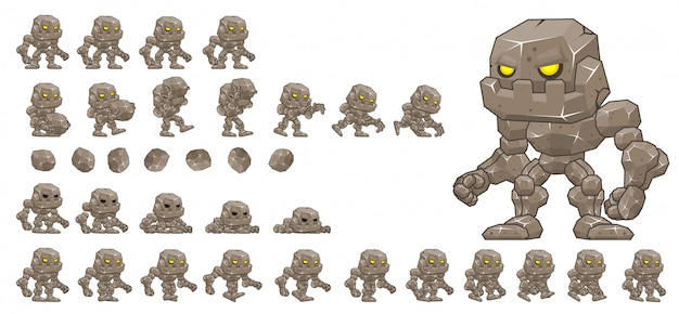 Little golem game sprite
