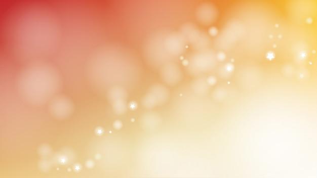 Llamarada de luz de confeti de navidad borrosa tamaño de pantalla de página web resumen ilustración de vector de fondo eps10