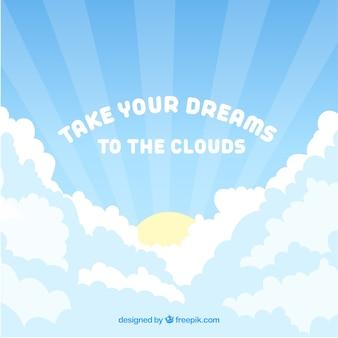 Lleva tus sueños a las nubes