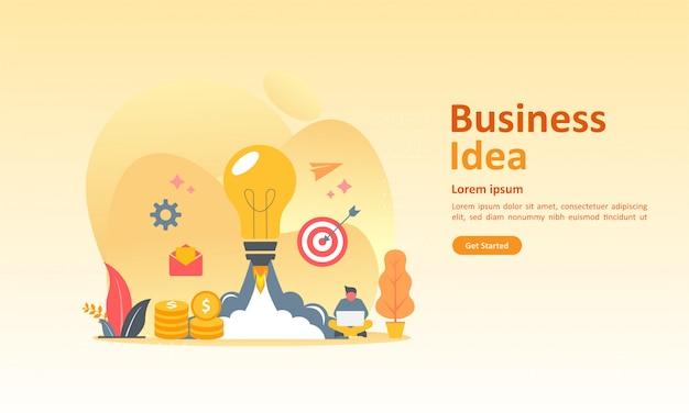 Lluvia de ideas de negocios