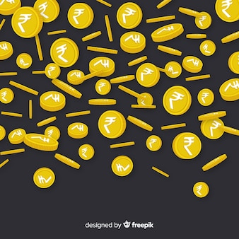 Lluvia de rupias