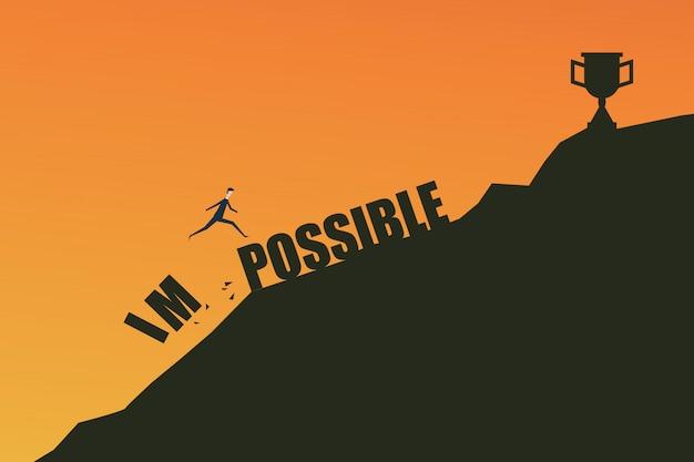 Lo imposible es posible concepto