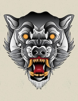 Lobo neo tradicional
