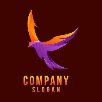 Logo 3d águila
