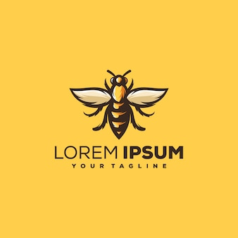 Logo de abeja
